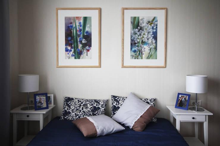 Blue: Спальни в . Автор – ASH