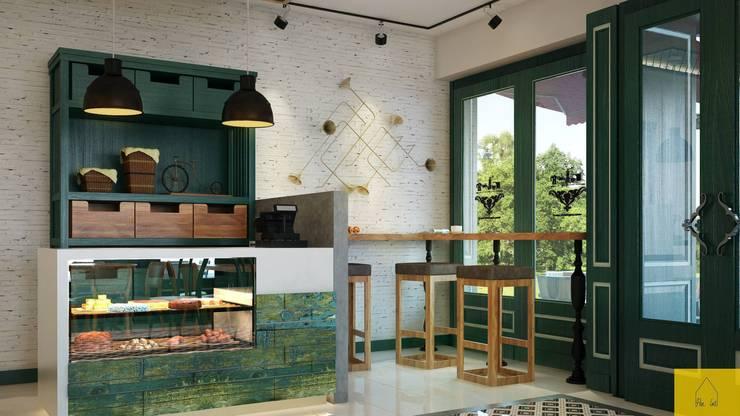Penintdesign İç Mimarlık  – Tarihi Sarıyer Börekçisi:  tarz Yeme & İçme