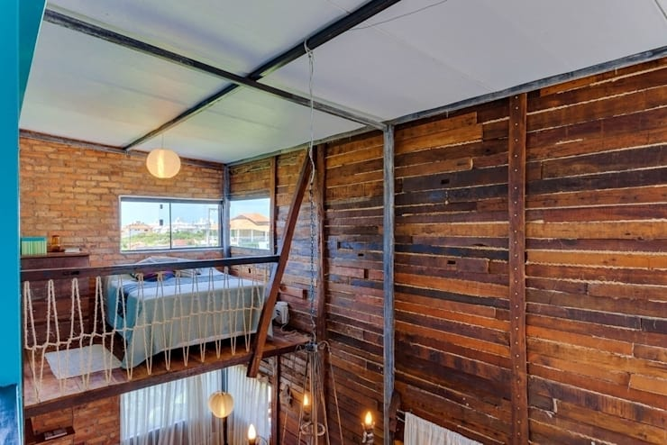 Dormitorios de estilo rústico por Ferraro Habitat