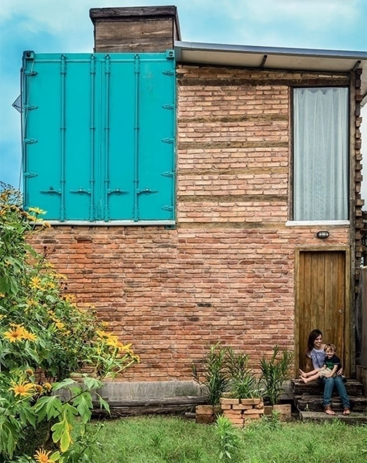 Casa ReFit: Casas rústicas por Ferraro Habitat