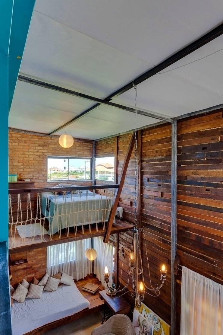 Casa ReFit: Quartos  por Ferraro Habitat