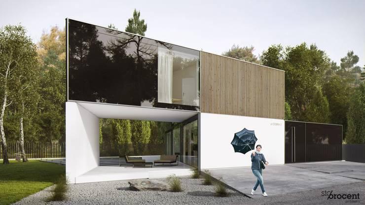 http://www.stoprocentarchitekci.pl/gallery/dom-x/http://www.stoprocentarchitekci.pl/gallery/dom-x/: styl , w kategorii  zaprojektowany przez STOPROCENT Architekci