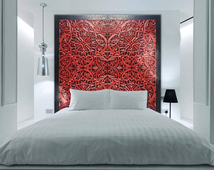 Dormitorios de estilo  por ESTUDIO DELIER