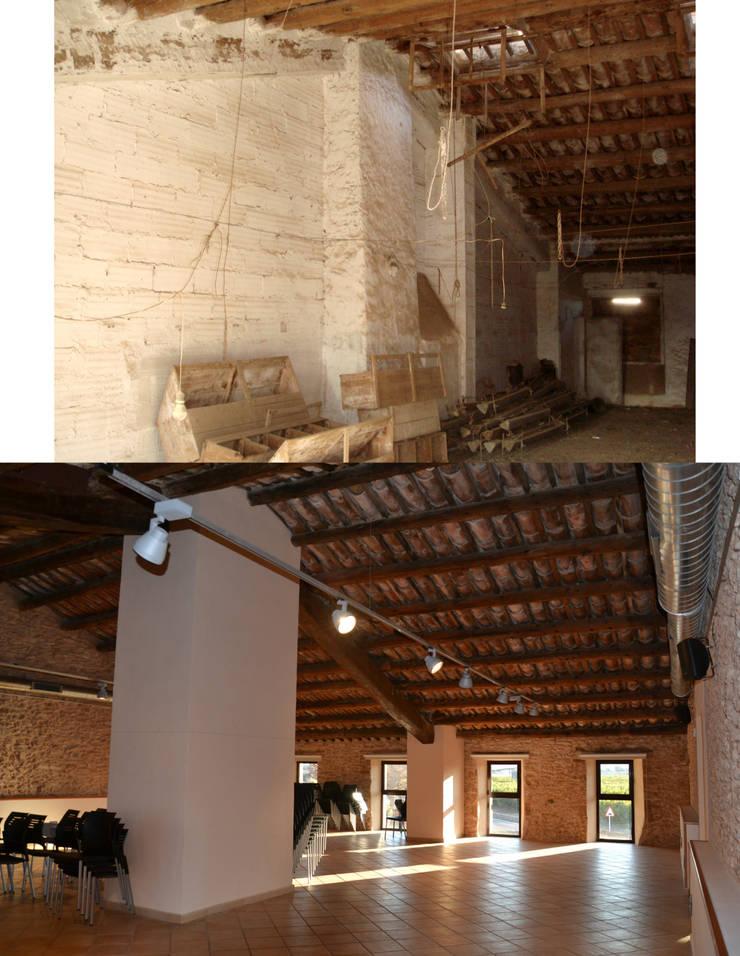 """Rehabilitación de masia para Museo en Santa Bàrbara:  de estilo {:asian=>""""asiático"""", :classic=>""""clásico"""", :colonial=>""""colonial"""", :country=>""""rural"""", :eclectic=>""""ecléctico"""", :industrial=>""""industrial"""", :mediterranean=>""""Mediterráneo"""", :minimalist=>""""minimalista"""", :modern=>""""moderno"""", :rustic=>""""rústico"""", :scandinavian=>""""escandinavo"""", :tropical=>""""tropical""""} de Mireia Cid,"""
