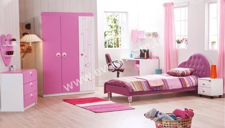 Habitaciones infantiles de estilo  de Ev Gör Mobilya Sanayi Tekstil ve Ticaret LTD. ŞTİ.