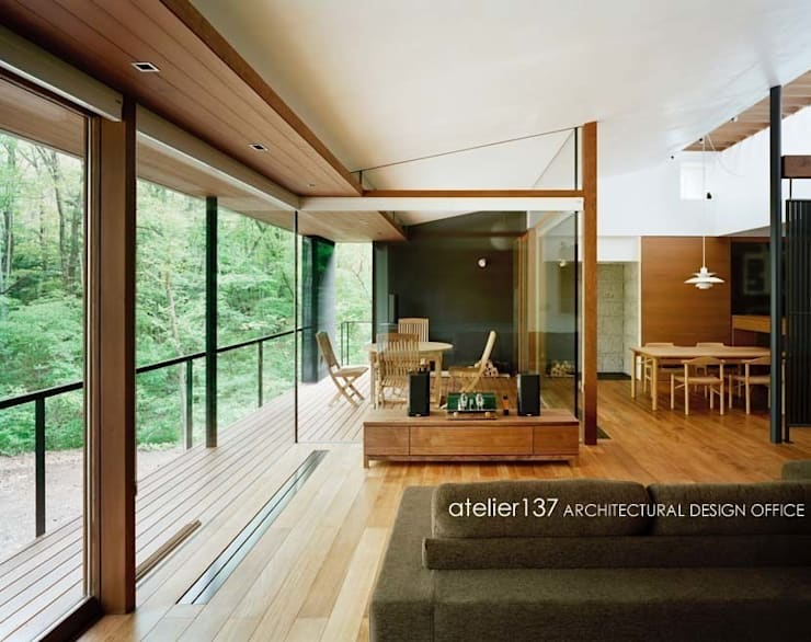 客廳 by atelier137 ARCHITECTURAL DESIGN OFFICE