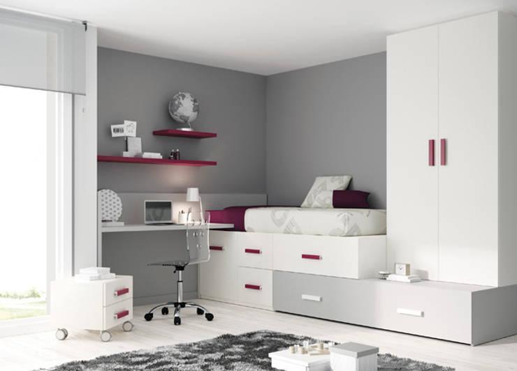 Ros 1 : Habitaciones infantiles de estilo  de Kimobel
