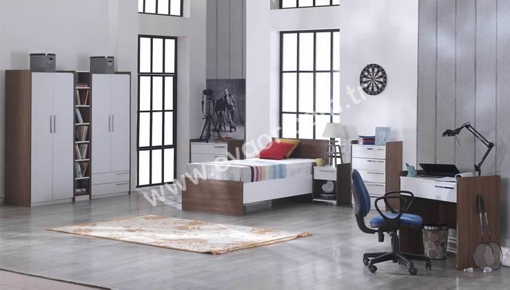 Ev Gör Mobilya Sanayi Tekstil ve Ticaret LTD. ŞTİ. – En Şık Erkek Çocuk Odaları:  tarz Çocuk Odası
