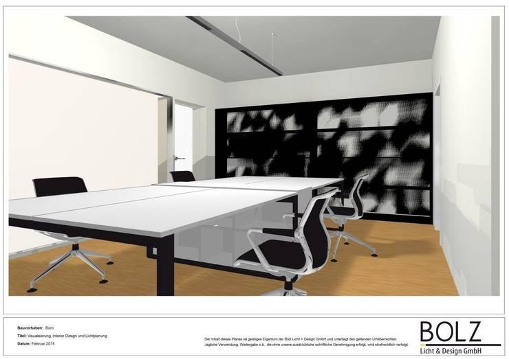 Visualisierung Büro in Saarbrücken von Bolz Licht und Wohnen · 1946 Klassisch