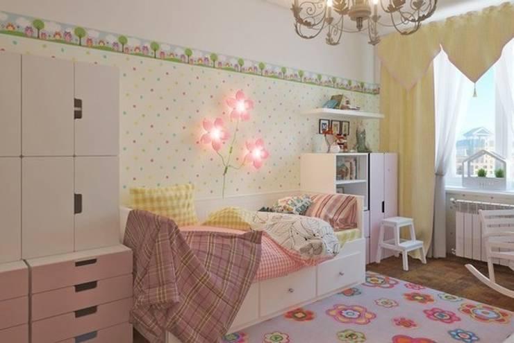 Комната для  принцессы.: Детские комнаты в . Автор – Anderson Home