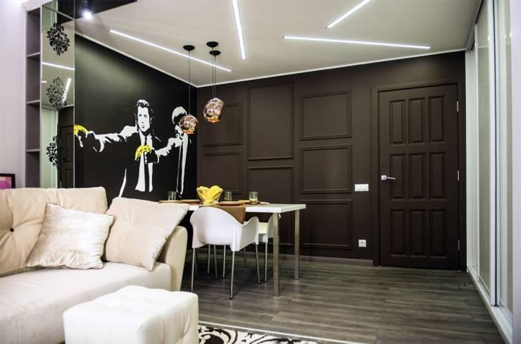 Наброски Голливуда: Столовые комнаты в . Автор – Дизайн-студия Екатерины Поповой
