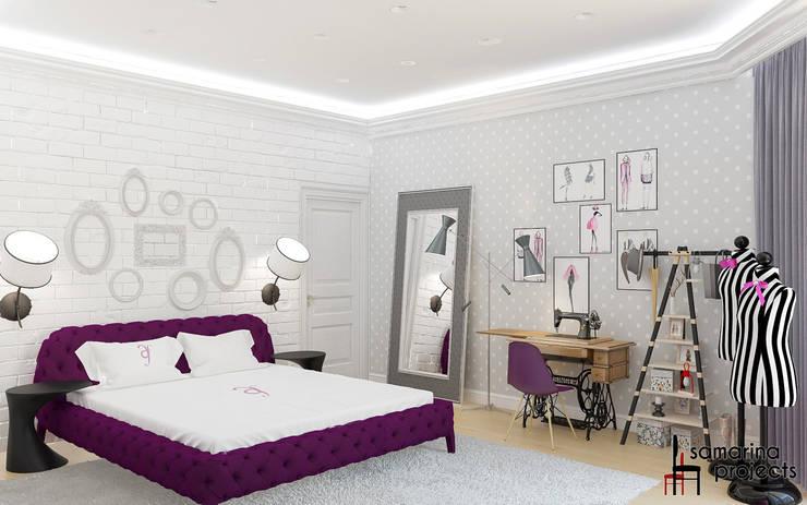 """Дизайн квартиры """"Геометрия цвета"""": Детские комнаты в . Автор – Samarina projects"""