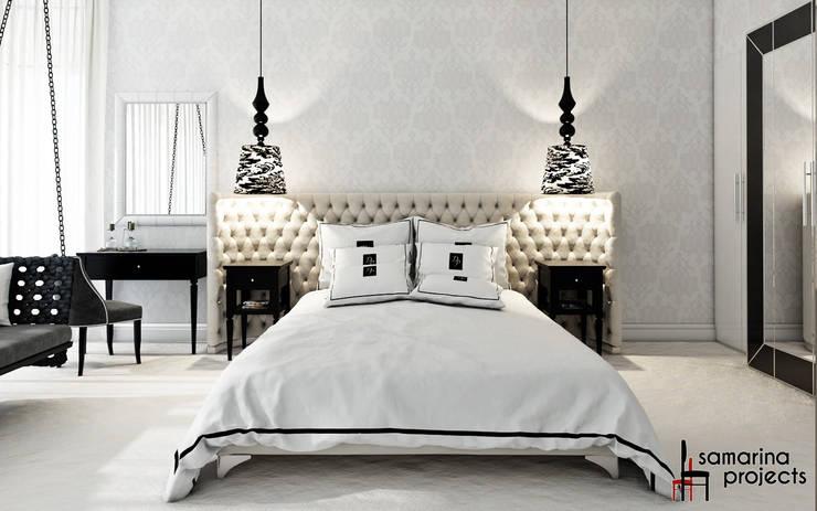 Samarina projects: klasik tarz tarz Yatak Odası