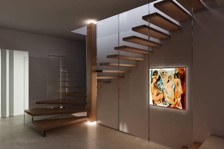 Pasillos y recibidores de estilo  por Siller Treppen/Stairs/Scale