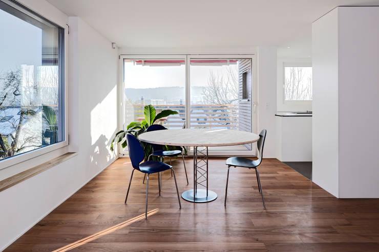 Столовые комнаты в . Автор – Schwarz & Schwarz dipl. Architekten SIA