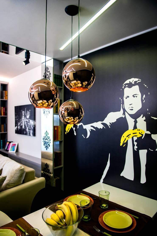 Фотообои: Гостиная в . Автор – Дизайн-студия Екатерины Поповой