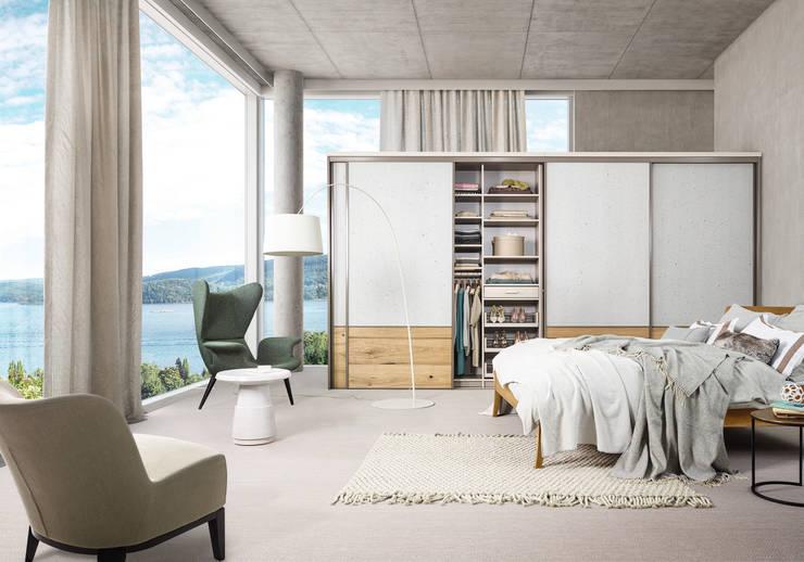 CABINET – CABINET heyecan verici yeni yüzeylerini tanıtıyor: modern tarz Giyinme Odası