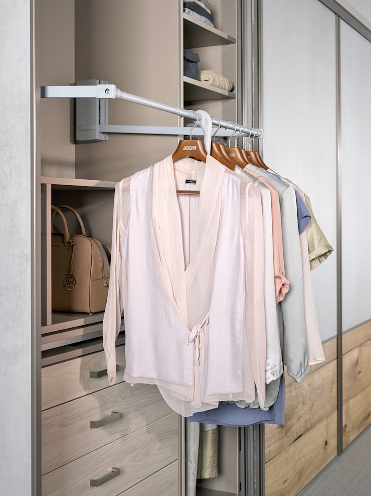 CABINET – CABINET heyecan verici yeni yüzeylerini tanıtıyor:  tarz Giyinme Odası