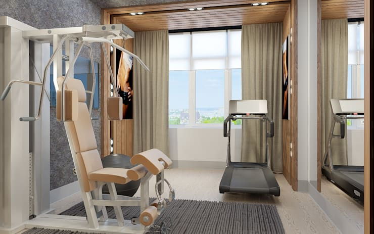 Gym by Samarina projects