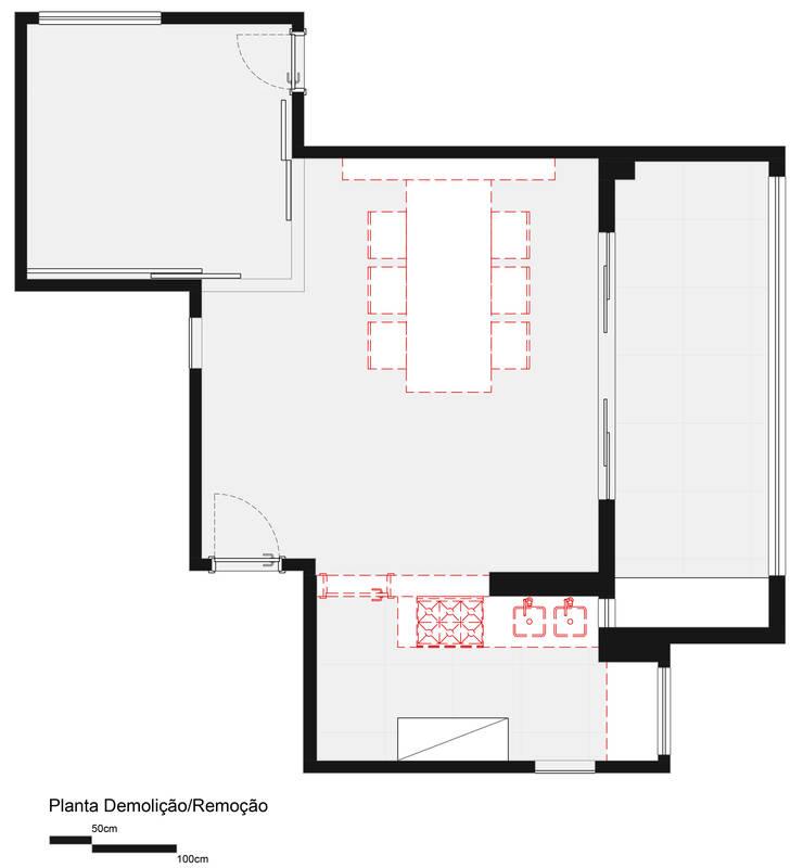 Demolição e Remoçoes:   por Haruf Arquitetura + Design