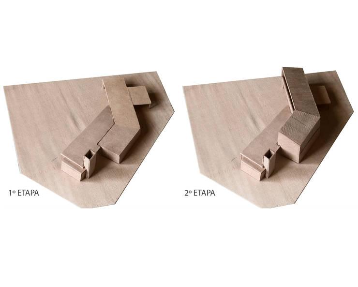 Maqueta Etapas:  de estilo  por BIAGIONI / PECORARI Arquitectos