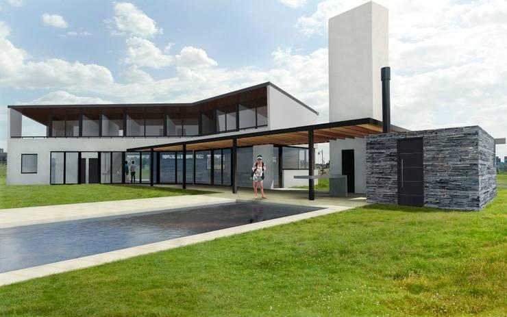 Render Etapa 2:  de estilo  por BIAGIONI / PECORARI Arquitectos