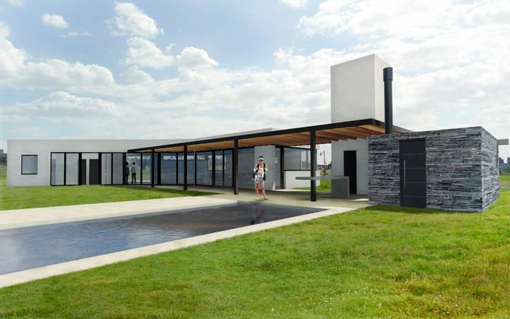 Render Etapa 1:  de estilo  por BIAGIONI / PECORARI Arquitectos
