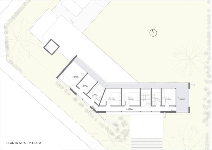 Planta Alta - Etapa 2:  de estilo  por BIAGIONI / PECORARI Arquitectos