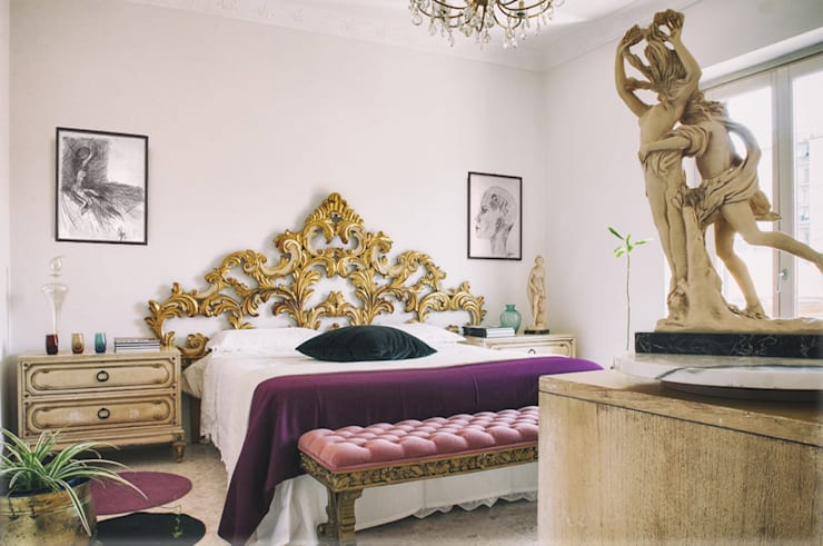 eclectic Bedroom by Bianca Coggi Architetto