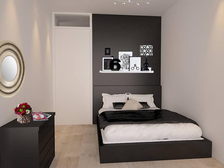 Kleine Slaapkamer Inrichten : Het inrichten van een kleine slaapkamer: met deze tips lijkt hij