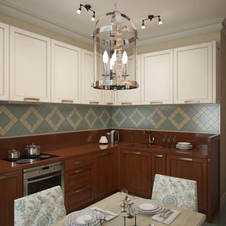 Квартира на Профсоюзной: Кухни в . Автор – Студия дизайна Марии Губиной