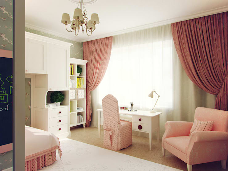 Квартира на Профсоюзной: Детские комнаты в . Автор – Студия дизайна Марии Губиной