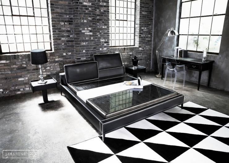 리스톤 귀사문석 스톤 매트리스 & 로건 침대: 리스톤의  침실