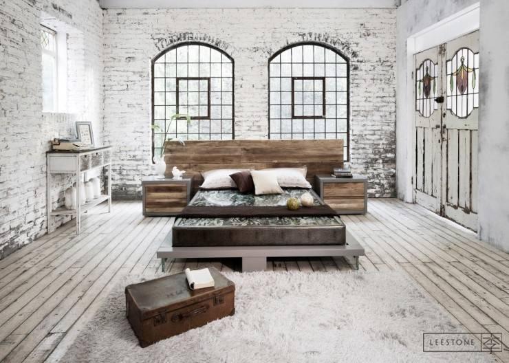 리스톤 고성옥 스톤 매트리스 & 베르겐 침대: 리스톤의  침실