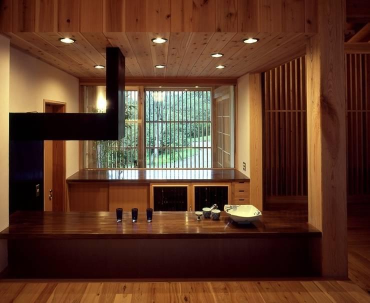 那須高原の家: TAMAI ATELIERが手掛けたキッチンです。