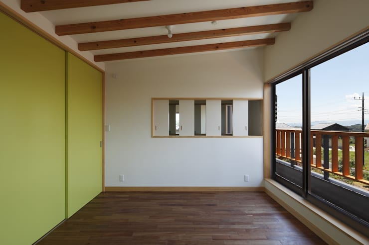 安中榛名の家: TAMAI ATELIERが手掛けた子供部屋です。