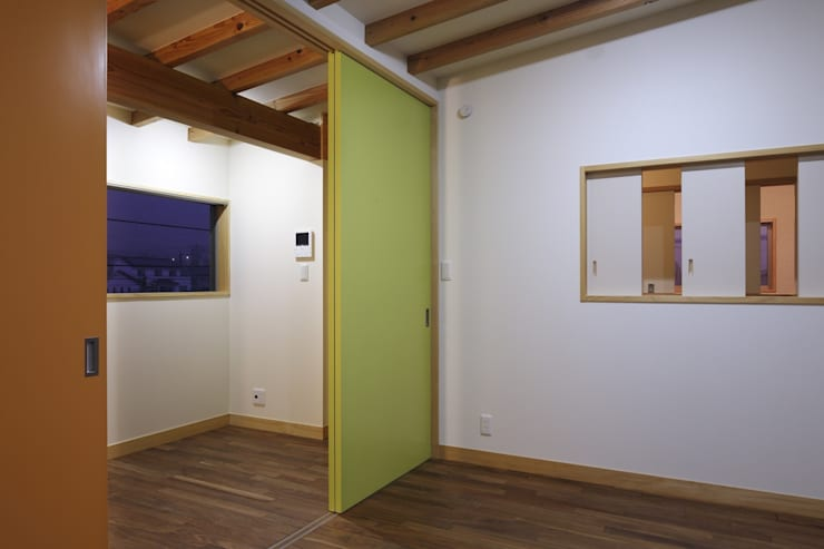 安中榛名の家: TAMAI ATELIERが手掛けた和室です。