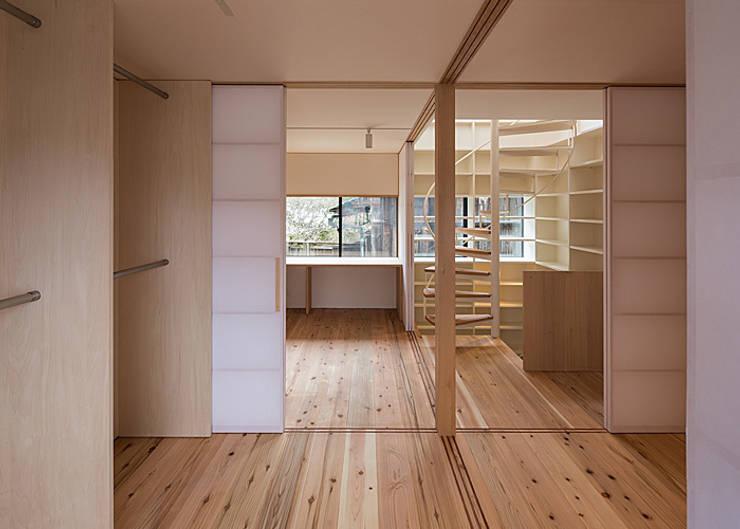 3階 多目的室: 河合建築デザイン事務所が手掛けた和室です。,
