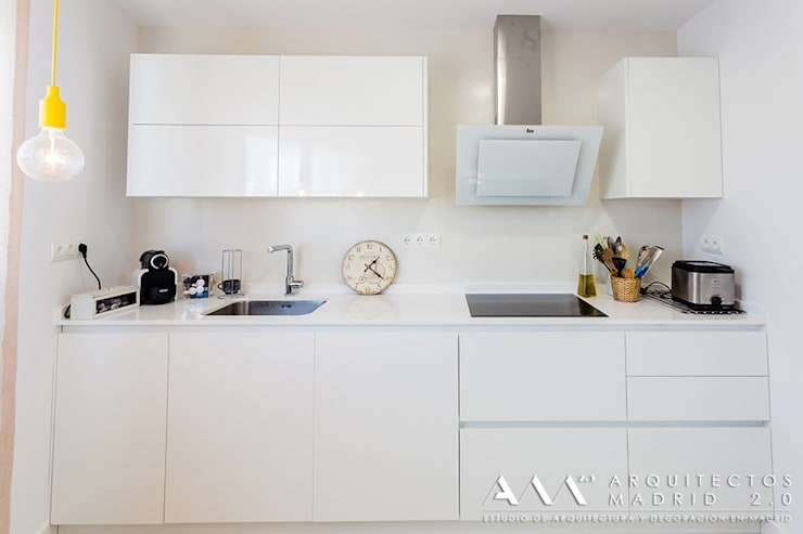 Kitchen by Arquitectos Madrid 2.0