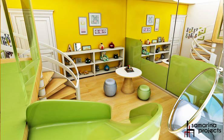 """Дизайн загородного дома """"Детская игровая"""": Детские комнаты в . Автор – Samarina projects"""