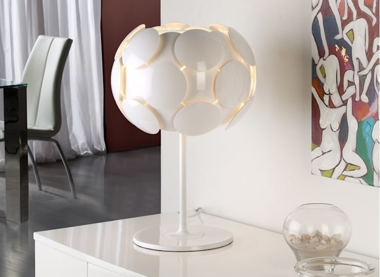 Lámpara Egea de Euroluz Jacrima SL Moderno