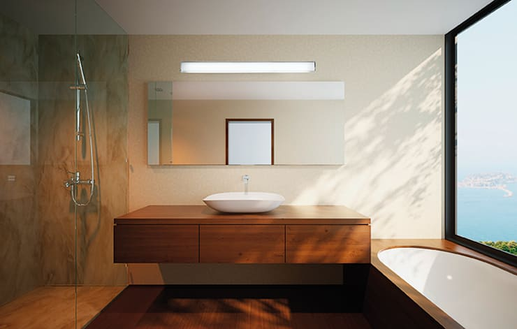 minimalistic Bathroom by LEDS-C4