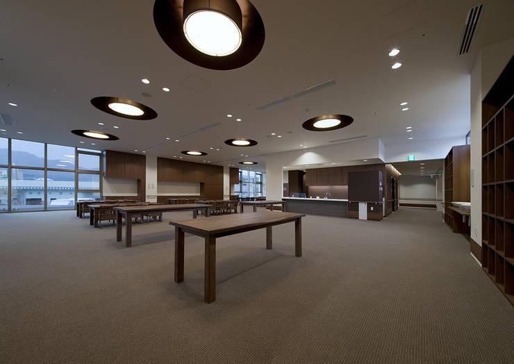 特別養護老人ホームいい穂会: ISDアーキテクト/一級建築士事務所が手掛けた商業空間です。