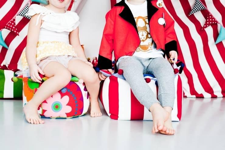 pufka PUFI: styl , w kategorii Pokój dziecięcy zaprojektowany przez Minimetry,