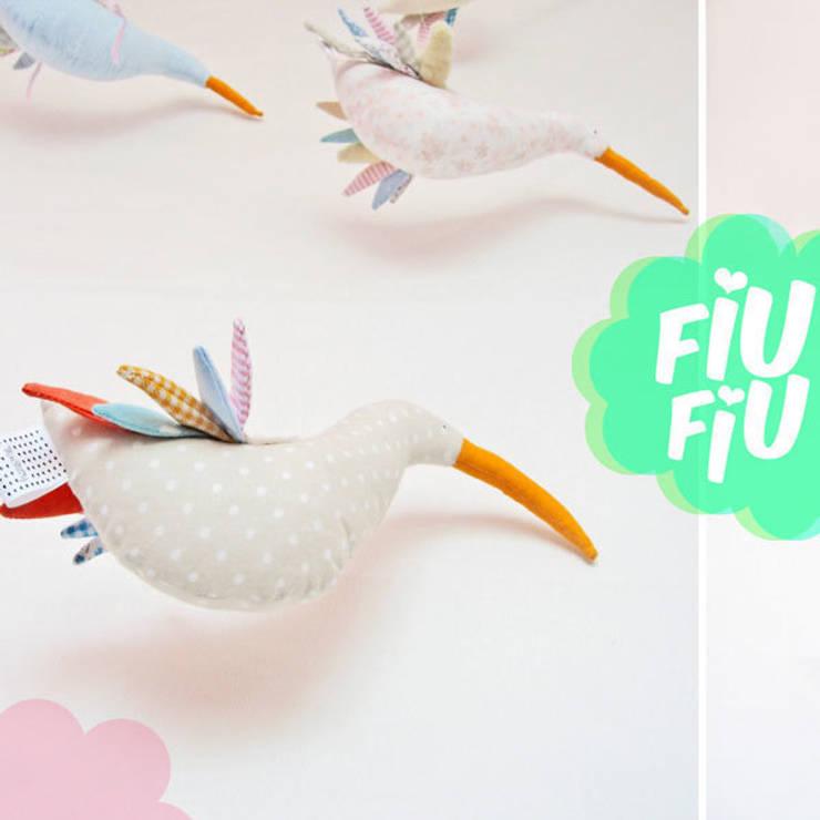 PTAKI, kolekcja FIU Fiu: styl , w kategorii Pokój dziecięcy zaprojektowany przez Minimetry
