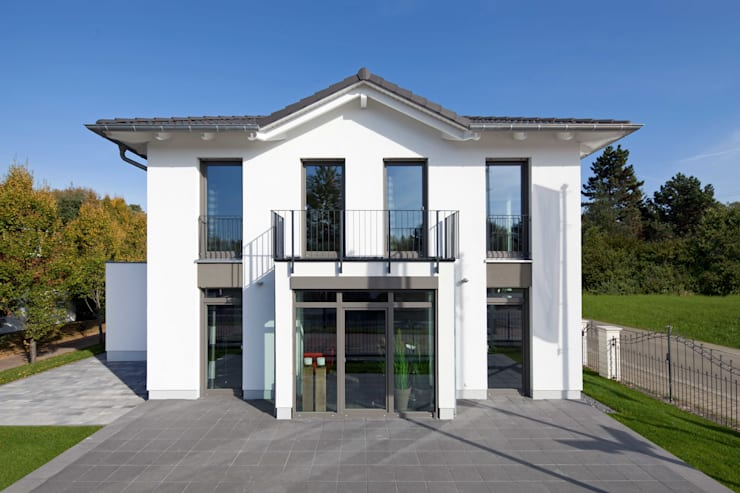 Projekty,  Domy zaprojektowane przez Heinz von Heiden GmbH Massivhäuser
