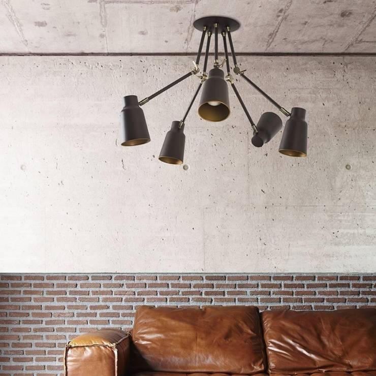 Lámpara Articulada: Salones de estilo moderno de TusLámparasOnline