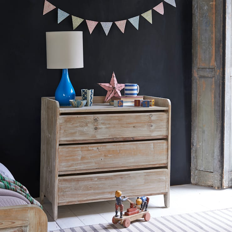 scandinavian Nursery/kid's room by homify
