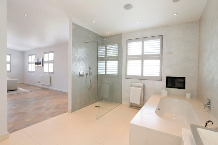Wandsworth London, Detached House Refurbishment and Design:  Bathroom by Urban Cape Interiors