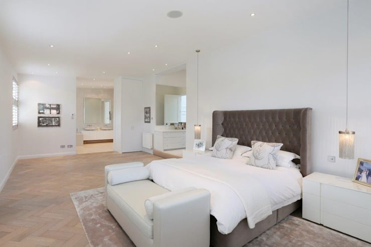 Wandsworth London, Detached House Refurbishment and Design: classic Bedroom by Urban Cape Interiors